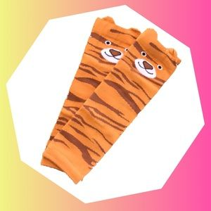 Other - Tiger Stripe Leg Warmers Animal Baby Kid